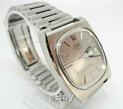 Vintage SS Omega Geneve Chronometer F300Hz ESA9164 Tuning Fork watch