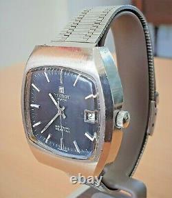 Vintage SS Tissot Electrosonic Seastar Tuning Fork watch cal 2010 (ESA 9162)