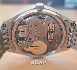 Vintage SS Titus electronic Tuning Fork watch ESA9162
