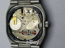 Vintage Solvil & Titus Geneve Tuning Fork 9299 Watch