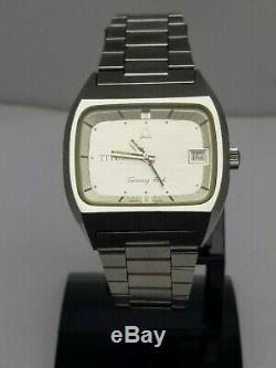 Vintage Solvil & Titus Geneve Tuning Fork 9305 Watch