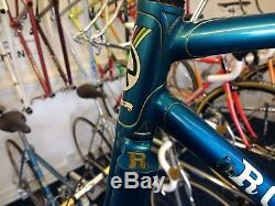 Vintage Steel Chas Roberts Frame & Forks 51cm Reynolds 531 mid 70s