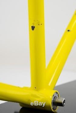 Vintage Steel Mercian TT/Tri Frame & Forks 55cm with Titanium BB Reynolds 731O/S