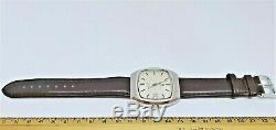 Vintage Tissot Tissonic Electronic Tuning Fork watch Cal 2010 (ESA 9162)