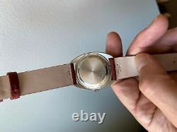 Vintage Universal Geneve Unisonic Tuning Fork Watch'Buzzsaw' Dial VERY RARE
