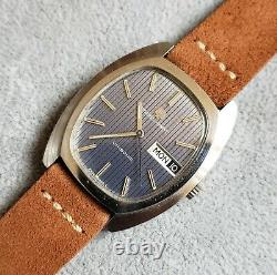Vintage Universal Geneve Unisonic Tuning Fork Watch, Great Dial, 35mm All Steel