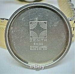 Vintage Zenith'Surf' GP Electronic Tuning Fork watch Zenith 50.0 ESA9162