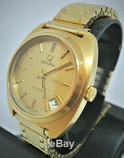 Vintage Zenith XL-Tronic GP Tuning Fork watch Zenith 50.0 ESA9162