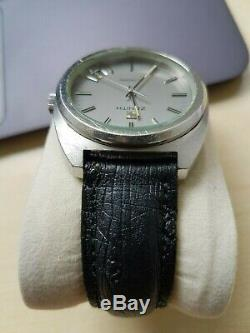 Vintage Zenith XL Tronic watch with tuning fork ESA 9162 movement