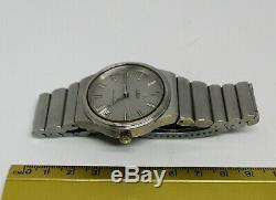 Vintage running SS Allegro ESA9162 Tuning Fork watch Zenith 50.0