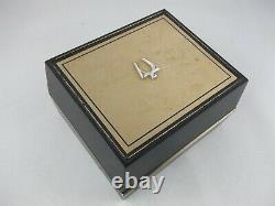 Vtg Men's 10k Gold-Filled Bulova Accutron Tuning Fork Watch 2181, Original Box