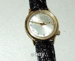Working 1976 BULOVA Accutron 2192.10 Tuning Fork 10K Time/Date Men's Wrist Watch